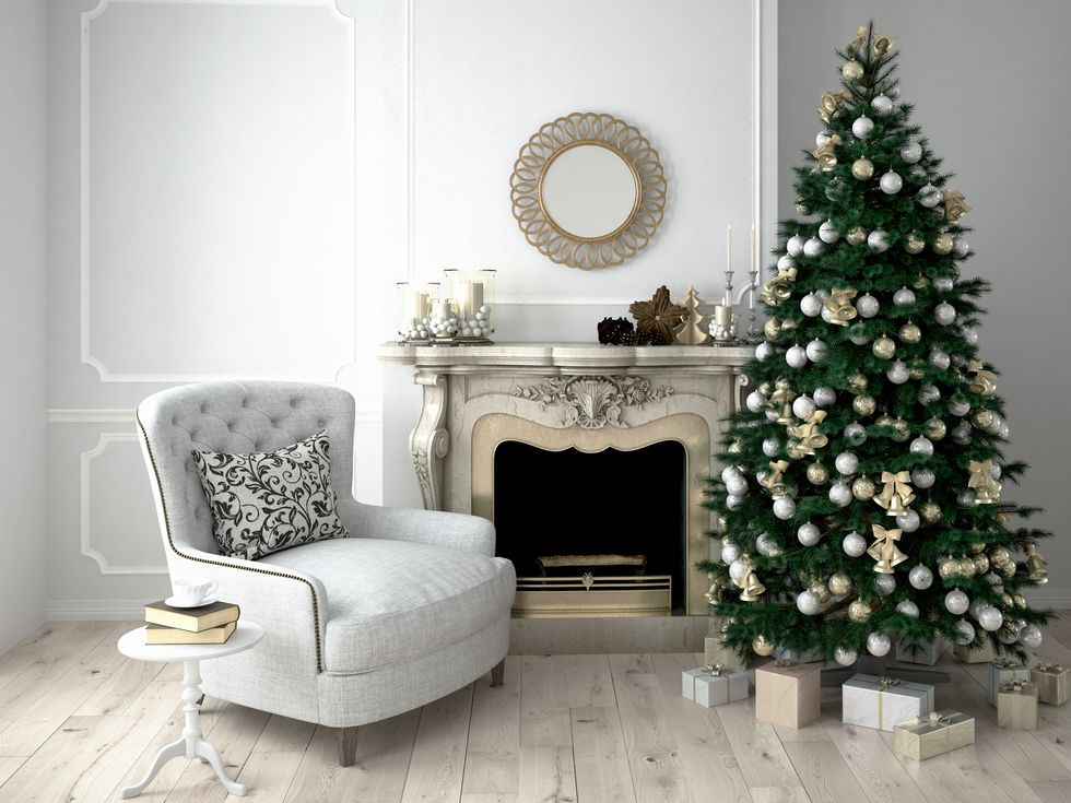 Idea Albero di Natale 2018 chic