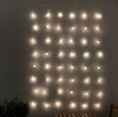 Tenda luminosa a Led Ikea  470x465 - IKEA Catalogo Natale 2018