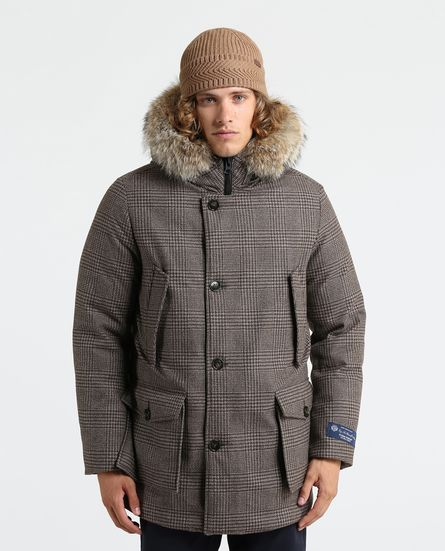 Woolrich Lp Parka Arctic Hc prince of wales inverno 2018 2019 prezzo 1600 euro