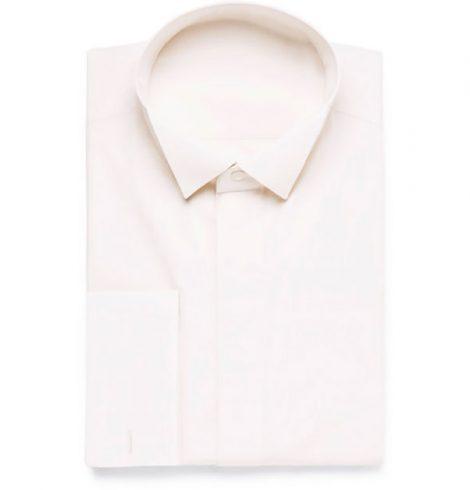 Camicia con collo diplomatico 470x490 - Scelta del colletto per la camicia da uomo