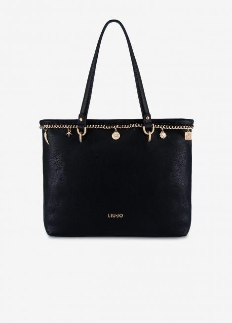 Shopping bag Liu Jo con charms primavera estate 2019 470x655 - Liu Jo Borse Primavera Estate 2019: Catalogo Prezzi