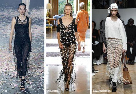 Abiti in rete moda abbigliamento primavera estate 2019 470x325 - 20 Tendenze Moda Abbigliamento Donna Primavera Estate 2019