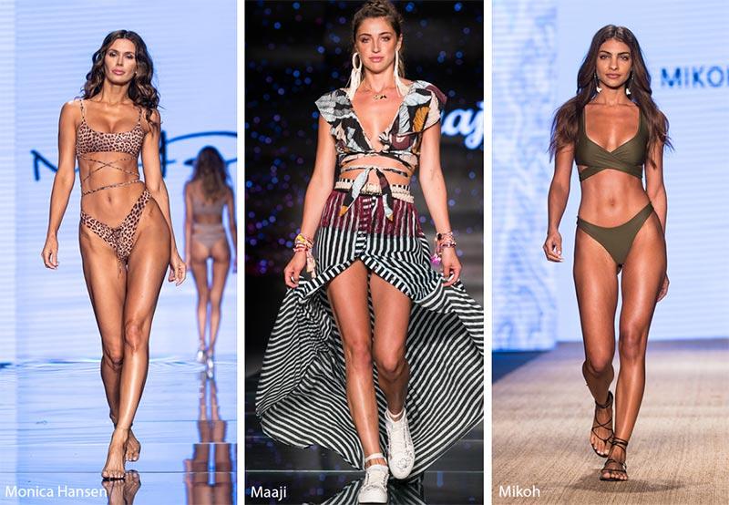 Bikini con reggiseno incrociato moda estate 2019