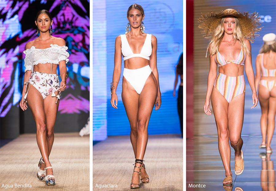 Bikini con slip a vita alta moda costumi estate 2019