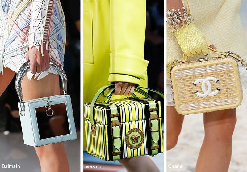 Box Handbags moda primavera estate 2019