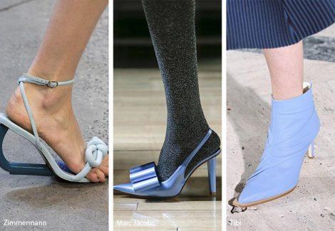 Calzature color azzurro moda primavera estate 2019 470x325 - 21 Tendenze Scarpe e Sandali primavera estate 2019