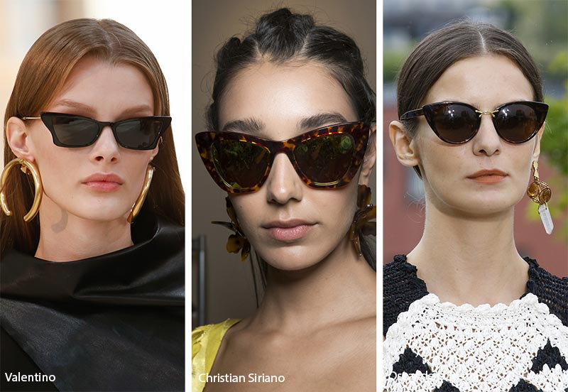 15 Tendenze Moda Occhiali da Sole donna 2019 Cat Eyes occhiali da sole moda estate 2019 - Cat Eyes occhiali da sole moda estate 2019