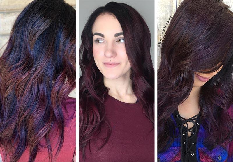 Colore Black Cherry Hair Colore Black Cherry Hair - Capelli Rossi tutte le tonalità Colore Black Cherry Hair - Capelli Rossi tutte le tonalità