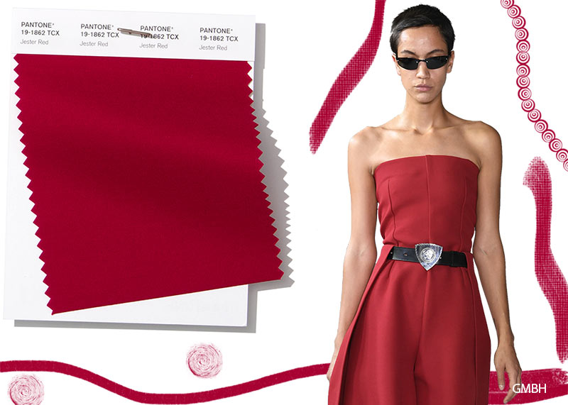 Colore Moda abbigliamento estate 2019 Jester Red