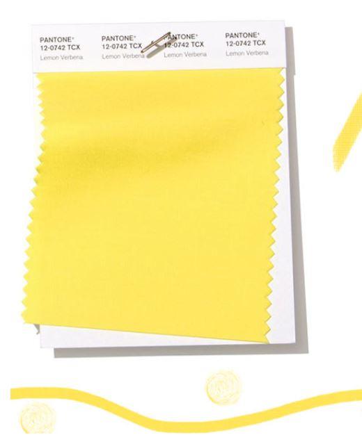 Colore Moda abbigliamento estate 2019 Lemon Verbena