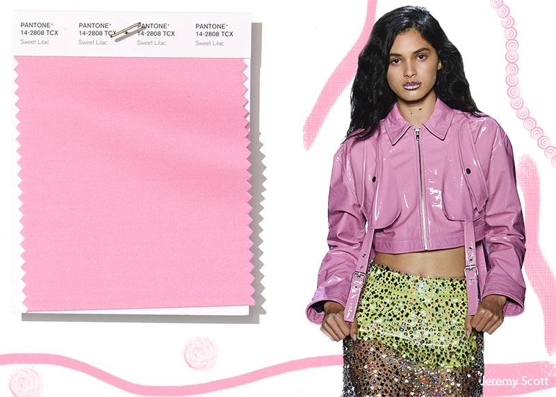 Colore Moda abbigliamento estate 2019 Sweet Lilac