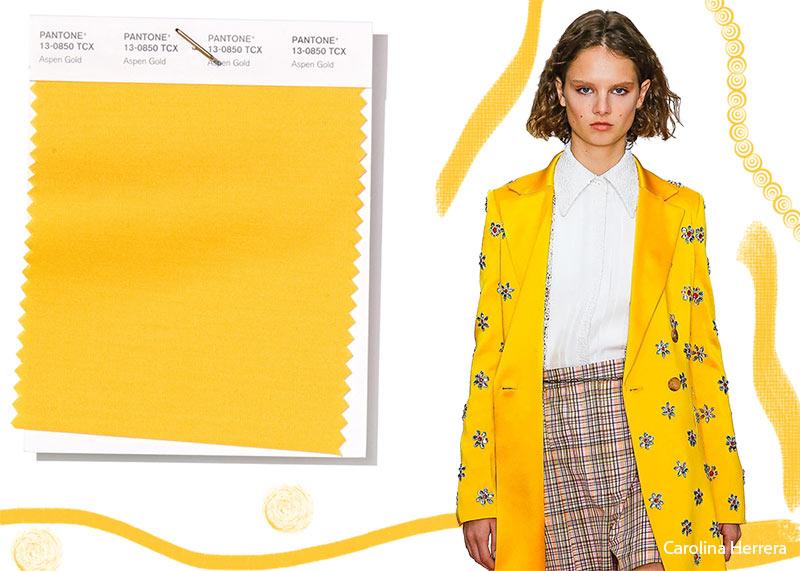 Colore Moda abbigliamento primavera estate 2019 Donna Aspen Gold