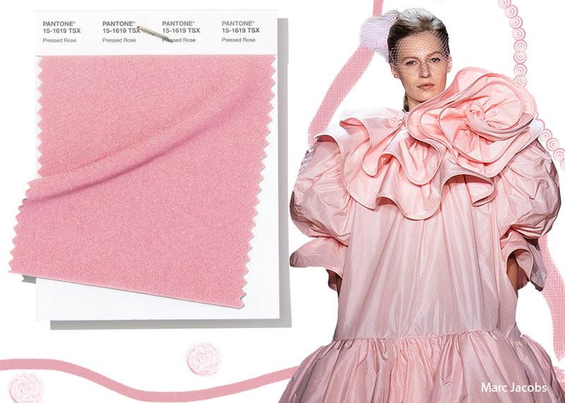 Colore Moda 2019 Living Coral Colore Moda abbigliamento primavera estate 2019 Donna Pressed Rose - Colore Moda abbigliamento primavera estate 2019 Donna Pressed Rose