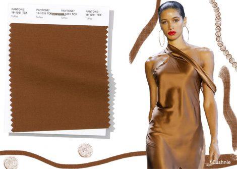 Colore Moda abbigliamento primavera estate 2019 Donna Toffee 470x335 - Colori Moda Primavera Estate 2019