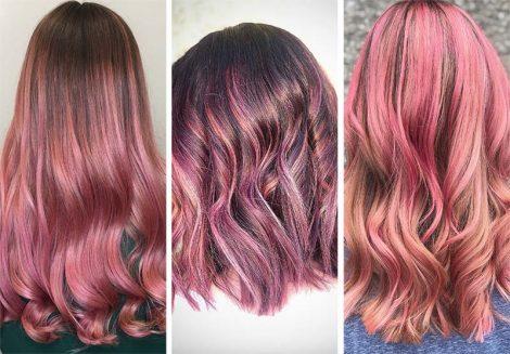 Colore capelli rosa quarzo 470x327 - Capelli Rossi tutte le tonalità