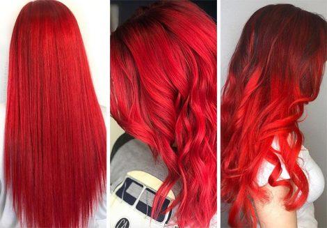 Colore capelli rosso fuoco 470x327 - Capelli Rossi tutte le tonalità