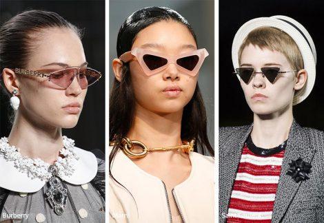 Occhiali da sole con lenti triangolari moda estate 2019 470x324 - 15 Tendenze Moda Occhiali da sole Donna 2019