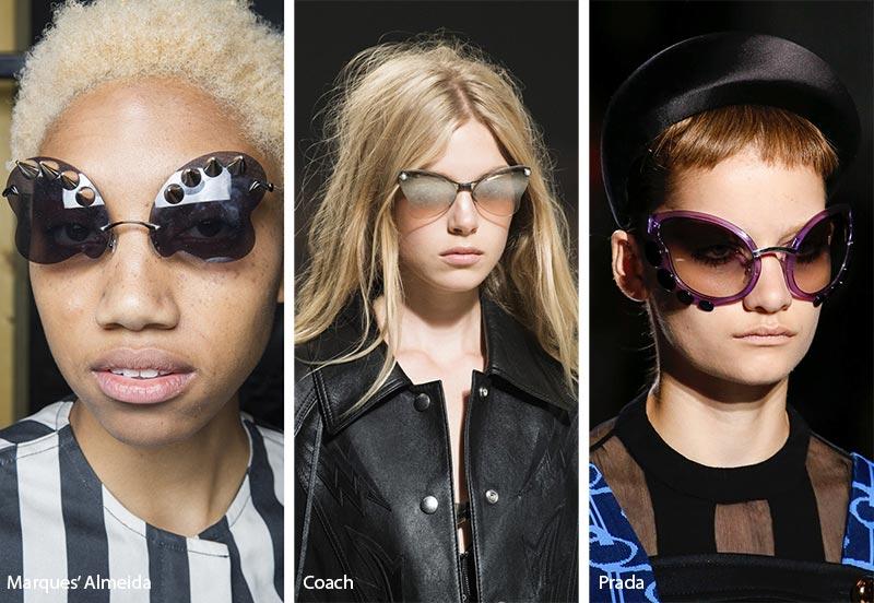 Occhiali da sole modello a Farfalla moda estate 2019