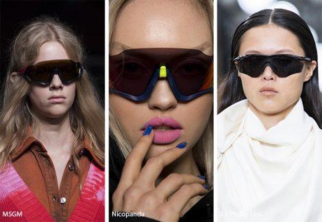 Occhiali da sole stile sportivo moda 2019 470x324 - 15 Tendenze Moda Occhiali da sole Donna 2019