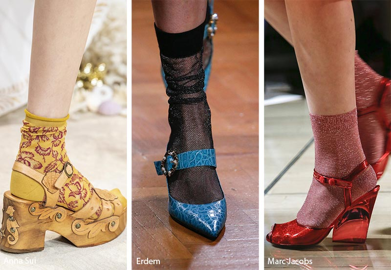 Sandali con clazini moda primavera estate 2019