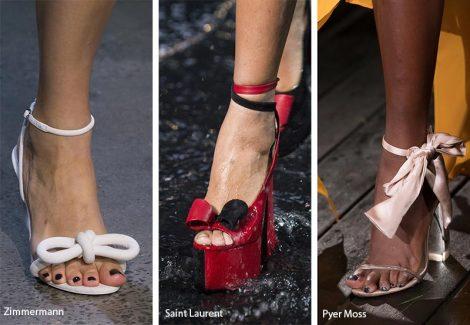 Sandali con fiocchi moda primavera estate 2019 470x325 - 21 Tendenze Scarpe e Sandali primavera estate 2019