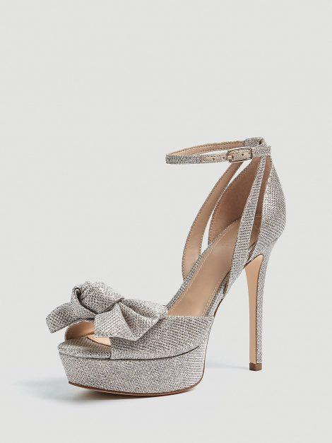Sandali gioiello con plateau e glitter GUESS estate 2019 prezzo 179 euro 470x627 - SANDALI GUESS ESTATE 2019: CATALOGO PREZZI