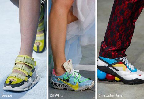 Scarpe ispirazione sportiva moda primavera estate 2019 470x325 - 21 Tendenze Scarpe e Sandali primavera estate 2019