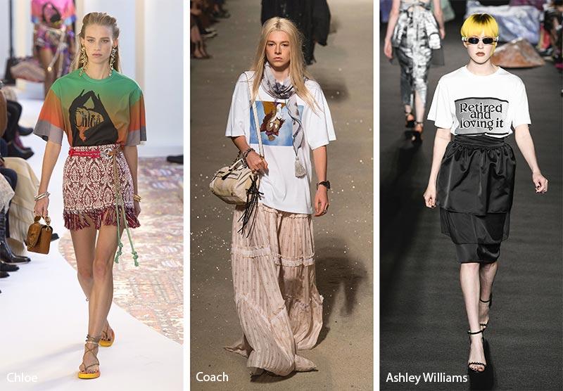 T shirts moda estate 2019