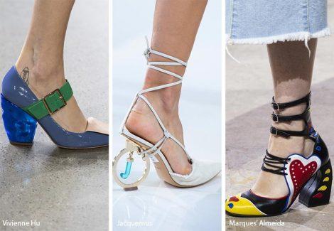 Tacchi scultura moda scarpe e sandali primavera estate 2019 470x325 - 21 Tendenze Scarpe e Sandali primavera estate 2019