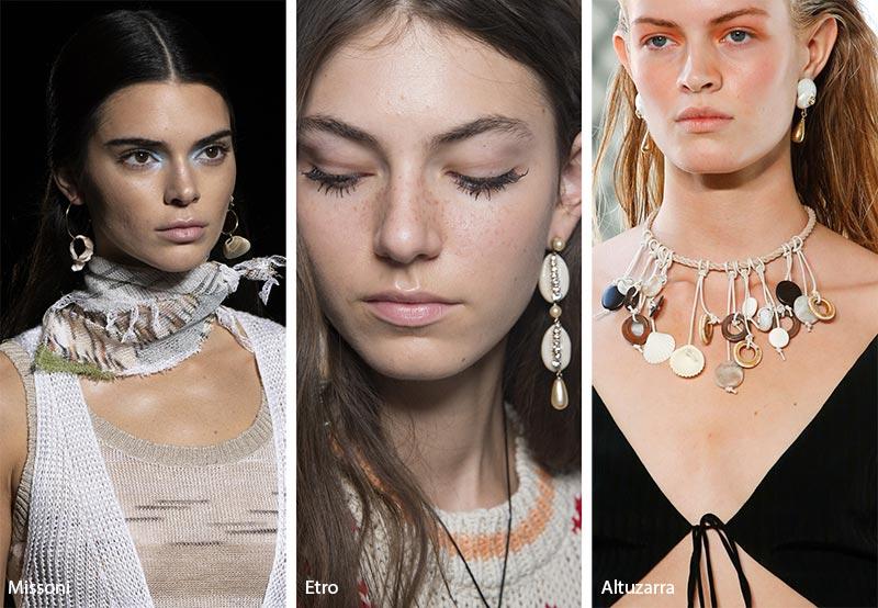 Tendenza gioielli primavera estate 2019 bijoux con conchiglie