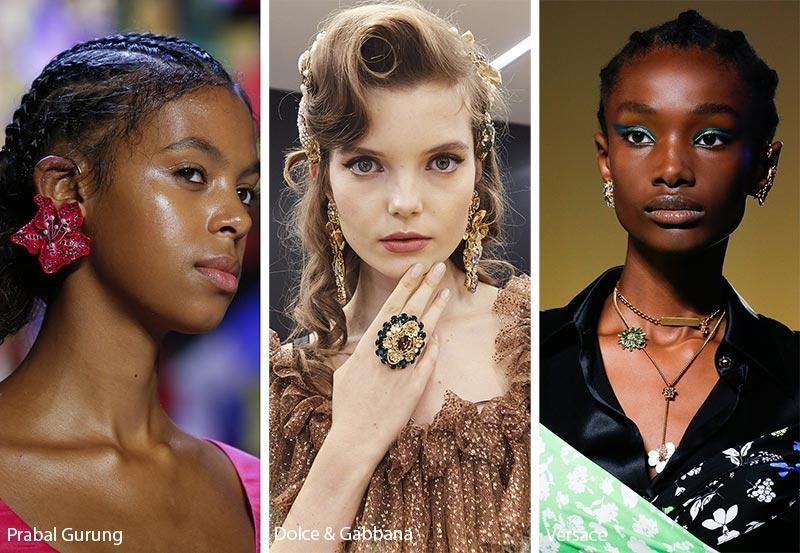 Tendenza gioielli primavera estate 2019 bijoux floreali