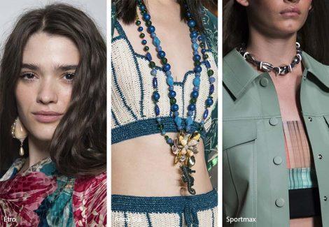 Tendenza gioielli primavera estate 2019 collane e orecchini con conchiglie 470x325 - 20 Tendenze Gioielli e Accessori Primavera Estate 2019