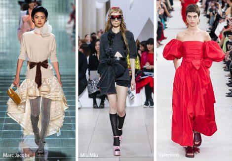 Tendenza moda abiti con fiocchi primavera estate 2019 470x325 - 20 Tendenze Moda Abbigliamento Donna Primavera Estate 2019