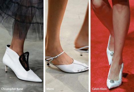 Tendenza moda scarpe e sandali colore bianco 470x325 - 21 Tendenze Scarpe e Sandali primavera estate 2019