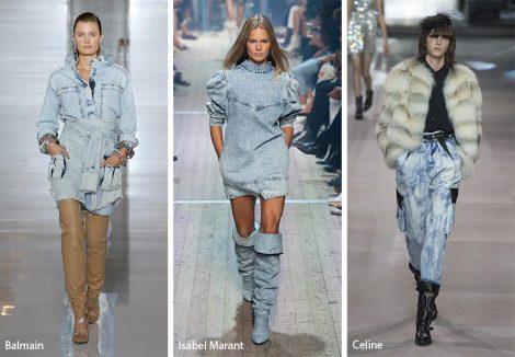 Tendenze Moda abbigliamento Denim slavato 470x326 - 20 Tendenze Moda Abbigliamento Donna Primavera Estate 2019