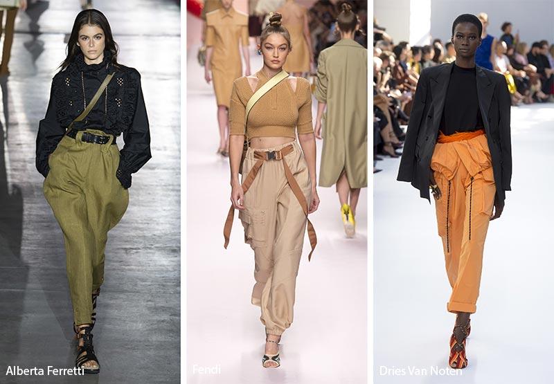 Tendenze Moda abbigliamento pantaloni cargo