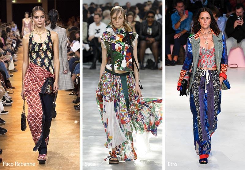 Tendenze Moda abbigliamento stampe e fantasie mix and match
