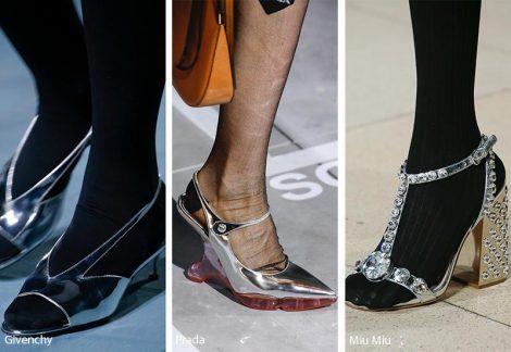 Tendenze Scarpe e sandali metallic silver primavera estate 2019 470x324 - 21 Tendenze Scarpe e Sandali primavera estate 2019