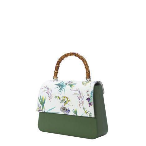 Nuoba Borsa O Bag Queen con patta fantasia floreale estate 2019 470x470 - Nuove Borse O bag primavera estate 2019: O bag Reverse e O bag Queen