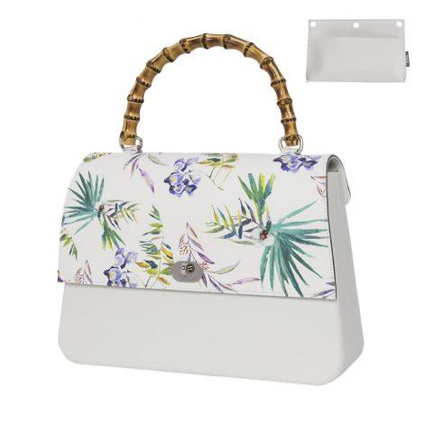 Nuova Borsa O Bag Queen Bianca con pattina Japan estate 2019 470x470 - Nuove Borse O bag primavera estate 2019: O bag Reverse e O bag Queen