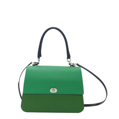 Nuova Borsa O Bag Queen verde primavera estate 2019 470x470 - Nuove Borse O bag primavera estate 2019: O bag Reverse e O bag Queen