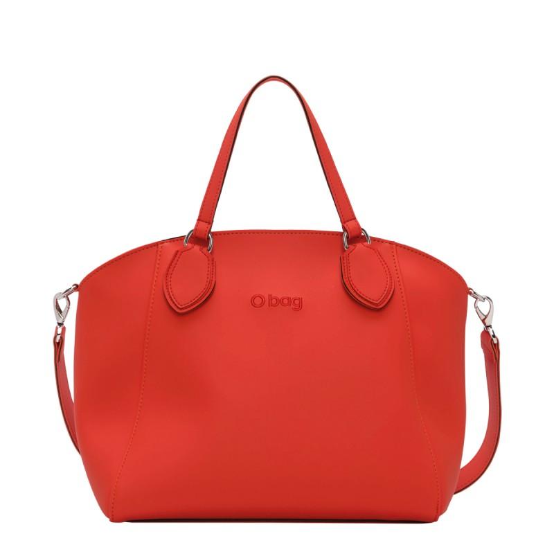Nuova borsa O Bag Soft Mild arancione primavera estate 2019 prezzo 100 euro