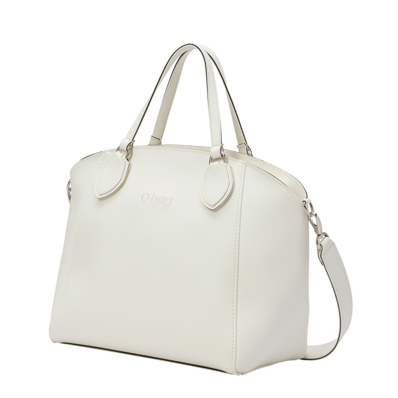 Nuova borsa O Bag Soft Mild bianca primavera estate 2019 prezzo 100 euro