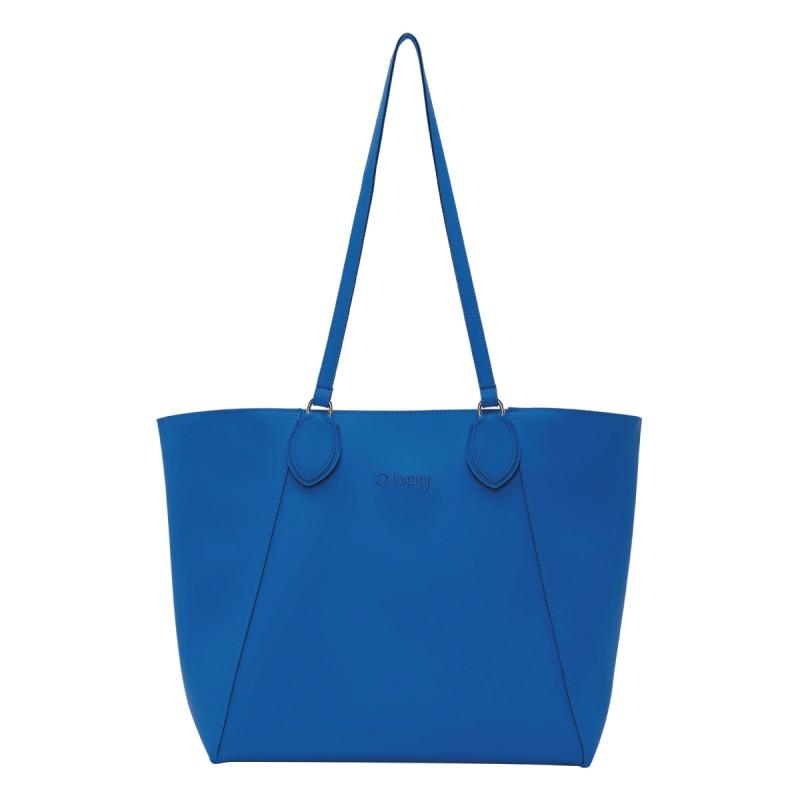 Nuova borsa O Bag Soft Sweet blu cobalto primavera estate 2019 prezzo 79 euro