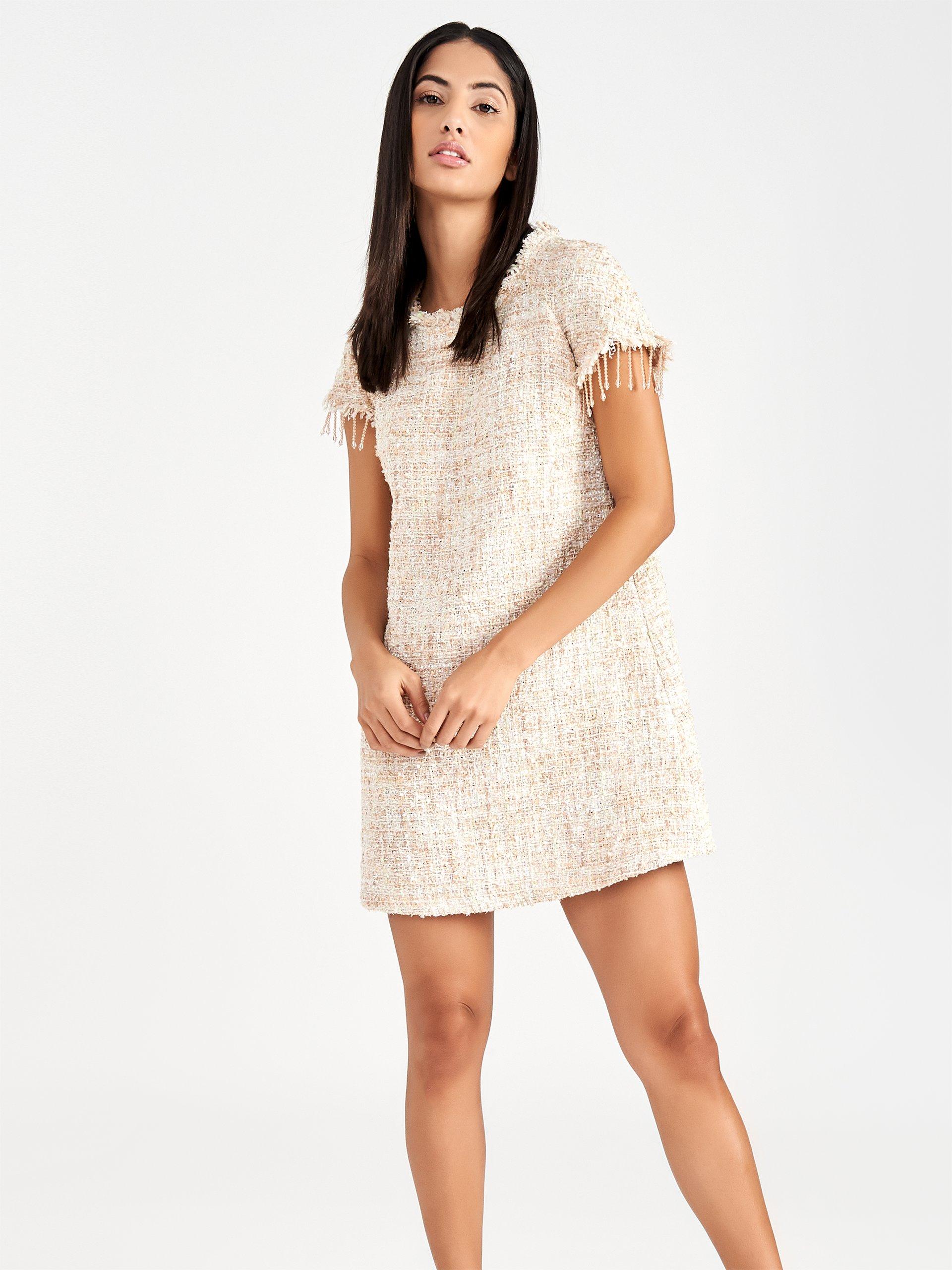 Vestito in tweed Rinascimento estate 2019 prezzo 109 euro