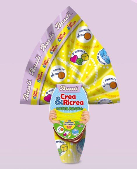 Uovo di Pasqua 2019 Bauli per bambini Crea e Ricrea 470x580 - Uova di Pasqua Bauli 2019