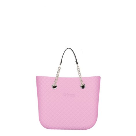 Borsa O Bag mini matelasse Orchidea con manici corti collezione primavera estate 2019 470x470 - Collezione Borse o Bag Mini Matelassè primavera estate 2019