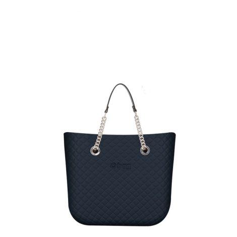 Borsa O Bag mini matelasse blu navy collezione primavera estate 2019 prezzo 83 euro 470x470 - Collezione Borse o Bag Mini Matelassè primavera estate 2019