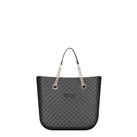 Borsa O Bag mini matelasse grigio grafite collezione primavera estate 2019 prezzo 83 euro 470x470 - Collezione Borse o Bag Mini Matelassè primavera estate 2019