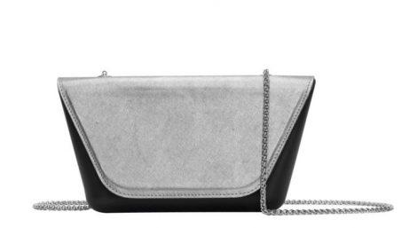 Borsetta O Bag Sheen nera con pattina silver 470x257 - Collezione Borse O Bag SHEEN primavera estate 2019